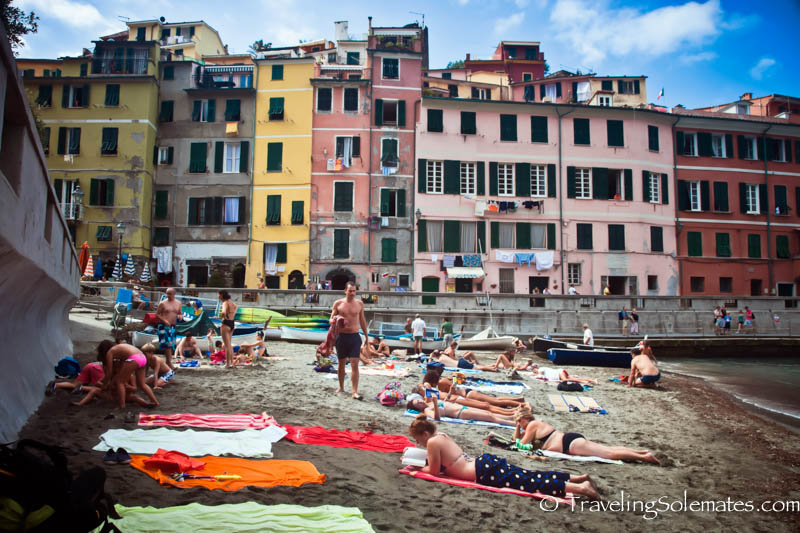 Vernazza's Beach, Cinque Terre, Italy