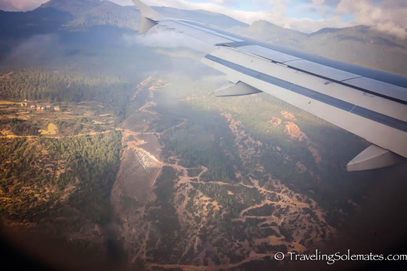 Landing in Paro, Bhutan