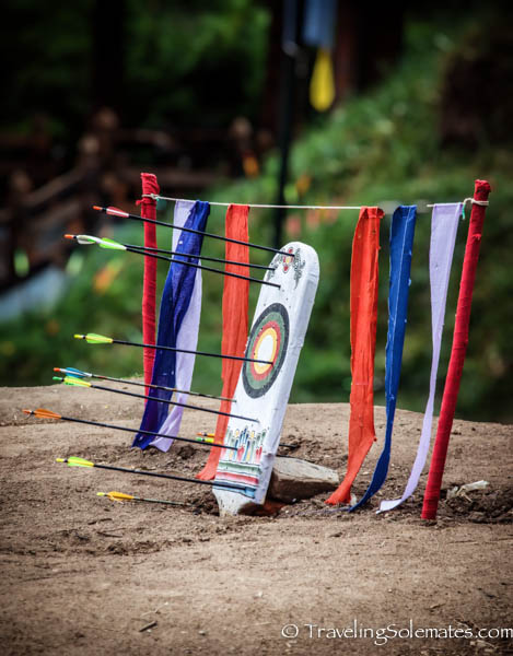 Archery Target, Thimphu, Bhutan