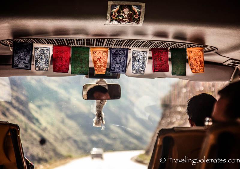 Paro to Thimphu Road trip, Bhutan