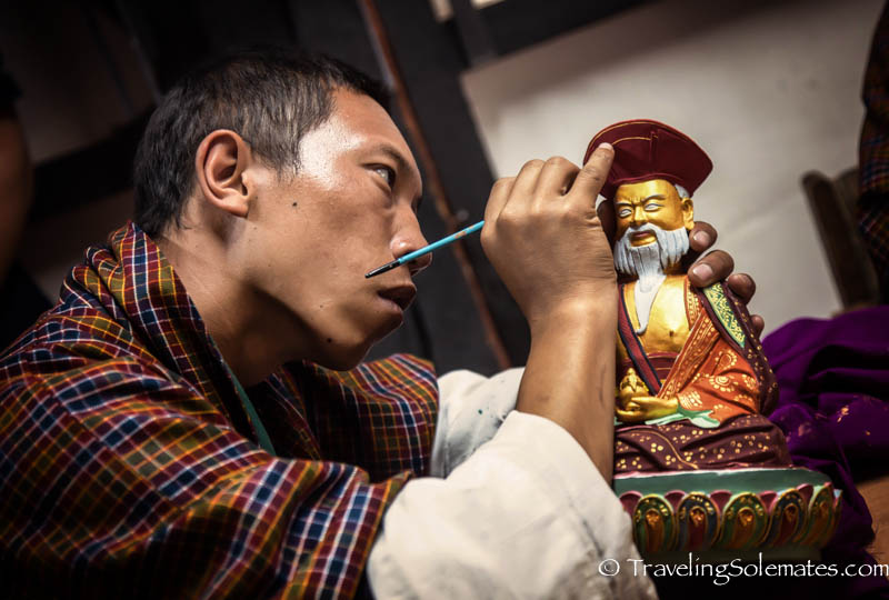 Painting School, Thimphu, Bhutan