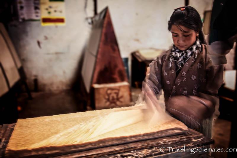 Hand Made Paper Factory, Thimphu, Bhutan