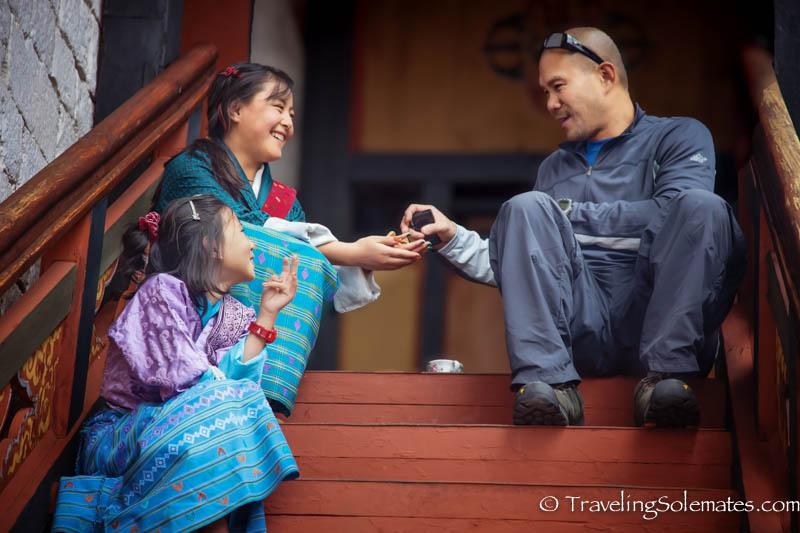 Festival (Tsechu), Tashichho Dzong, Thimphu, Bhutan.