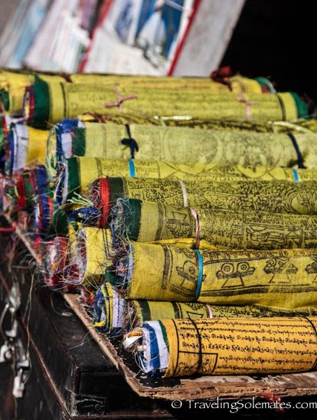 Prayer Flags for sale in Kathmandu, Nepal