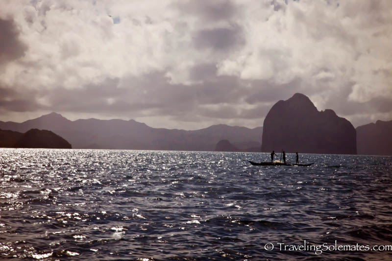 Fishermen in El Nido, Palawan, Philippines