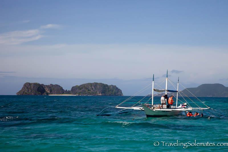 Snorkeling near Pangalusian Island, El Nido, Palawan, Philippines