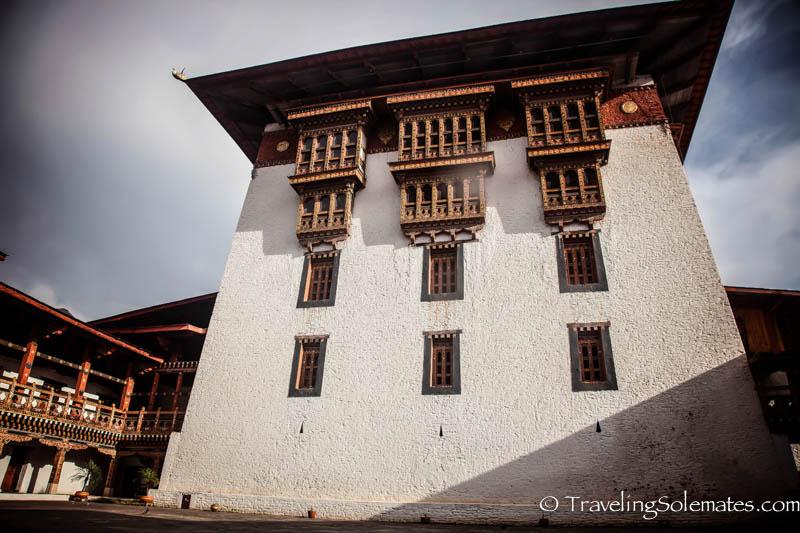 Courtyard, Punakha Dzong, Bhutan