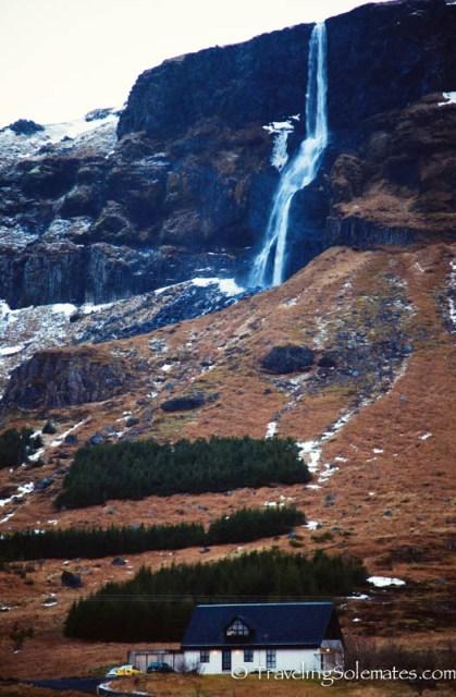 Bjarnafoss Waterfall, Snaefellsnes Peninsula, Iceland