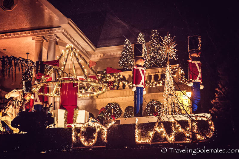 christmas lights in dyker heights brooklyn new york - Christmas Lights In Brooklyn