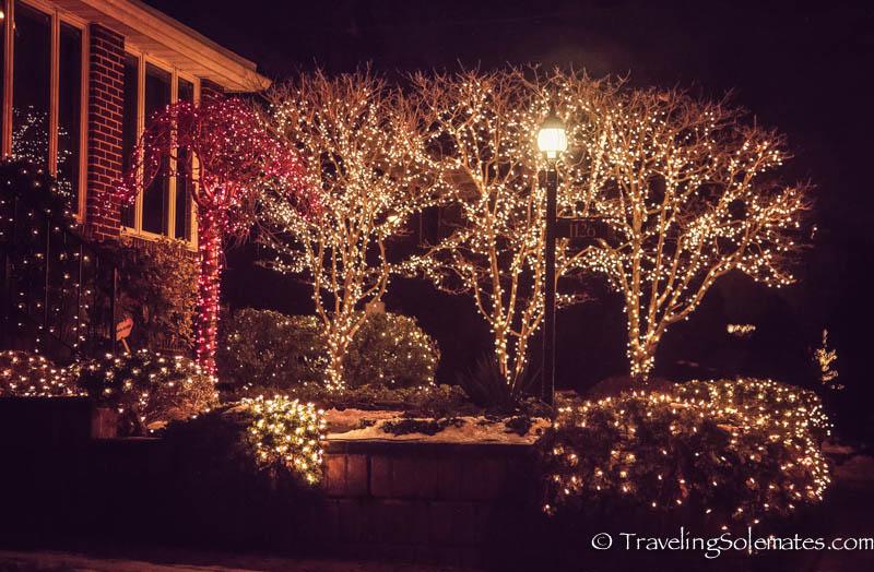 Christmas Lights in Dyker Heights, Brooklyn, New York