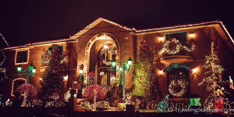 New York City: The Christmas Lights in Dyker Heights, Brooklyn ...