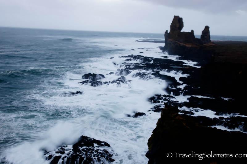 Londrangar basalt cliffs, Snaefellsnes Peninsula, Iceland