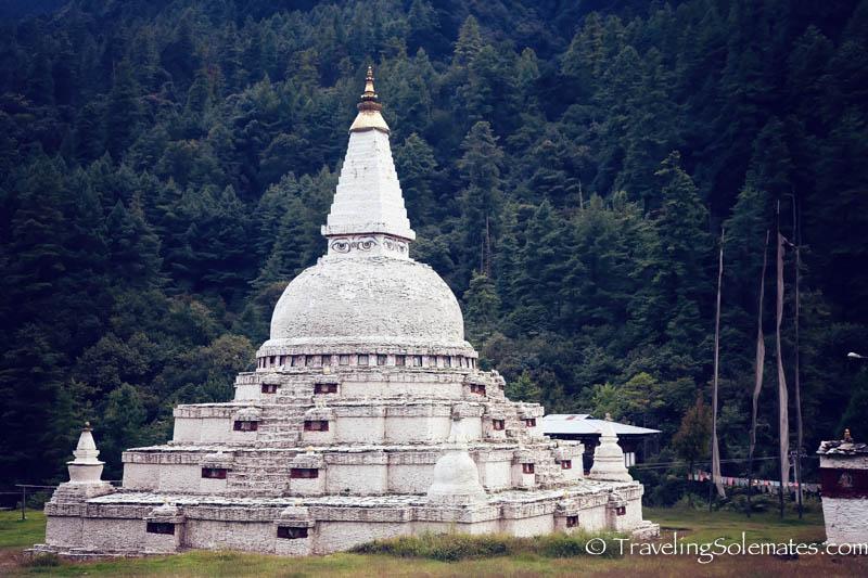 Chendebji Chorten near Trongsa, Bhutan