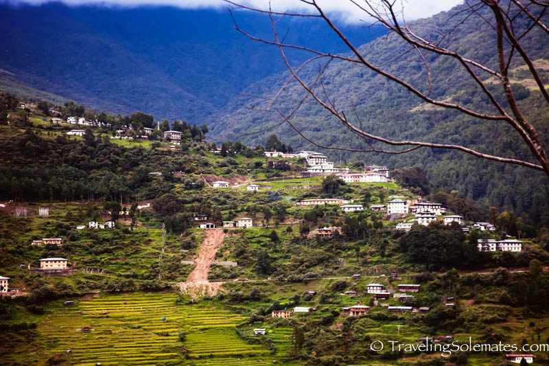 Villages in Trongsa, Bhutan