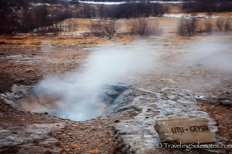 Little Geysir, Golden Circle Tour, Iceland