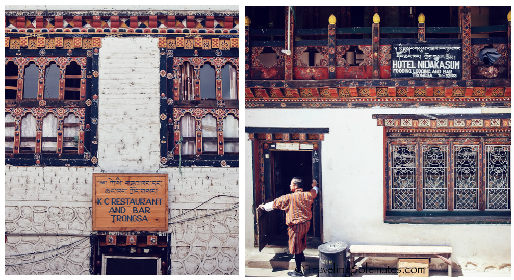 Hotel and Restaurant in Trongsa, Bhutan