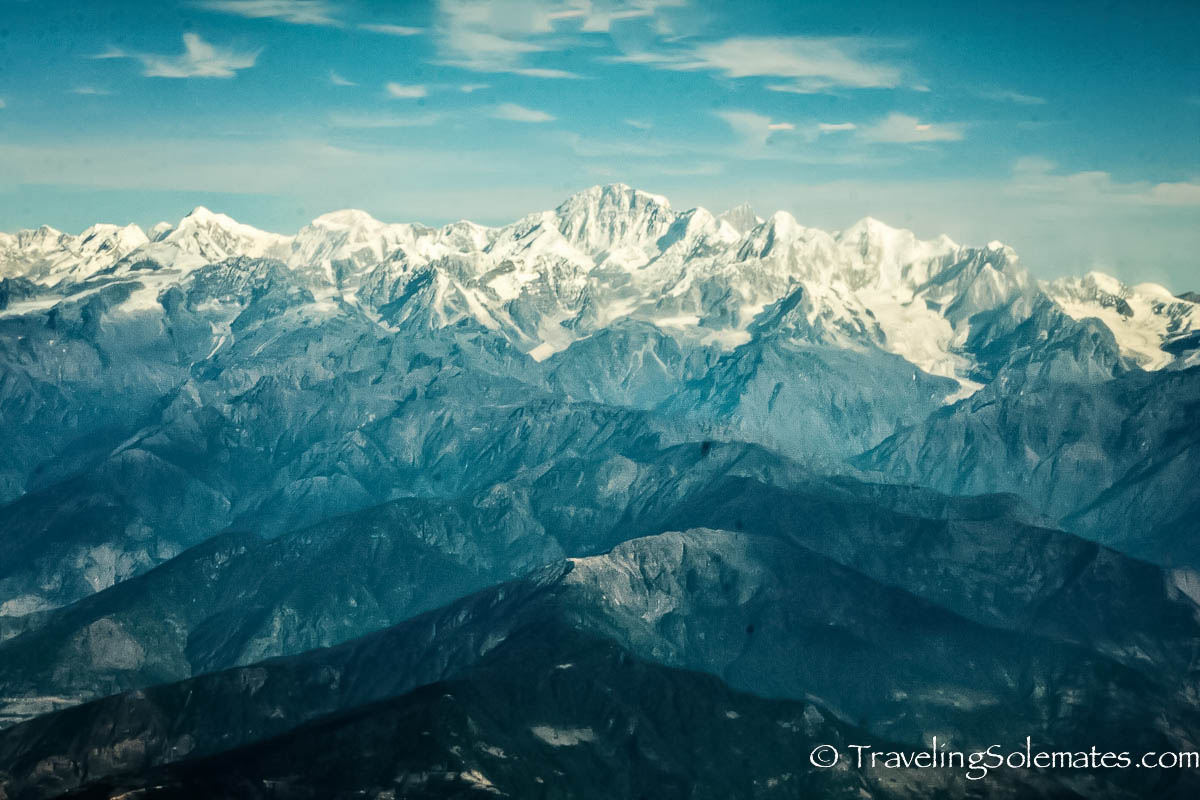 Scenic Mountain Flight over Mt. Everest and Himalayas, NepalScenic Mountain Flight over Mt. Everest and Himalayas, Nepal