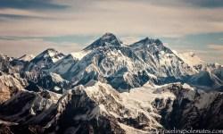 Scenic Mountain Flight over Mt. Everest, Nepal