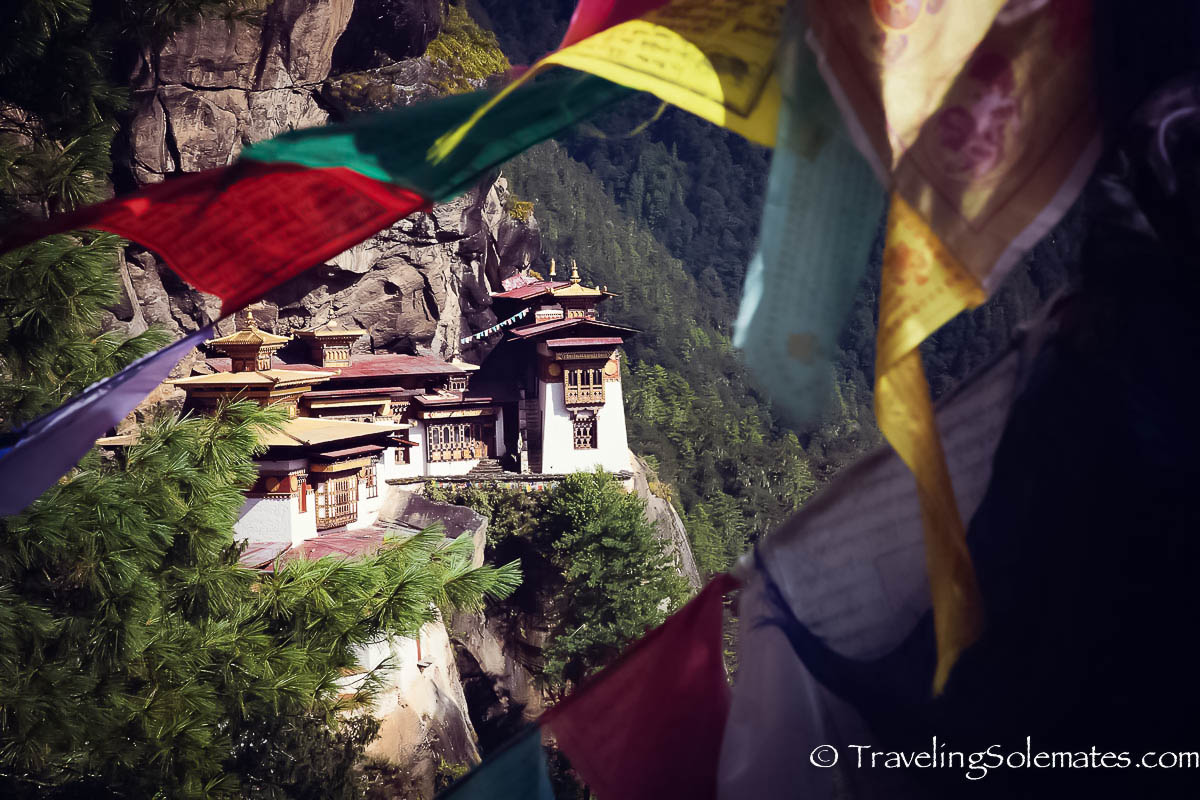 Viewpoint on a Hiking Trail to Tiger's Nest Monastery, Paro, Bhutan
