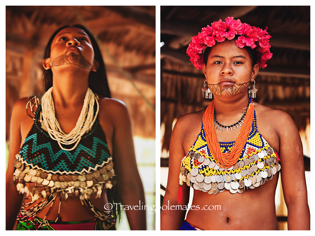 Women of Embera Village, Panama