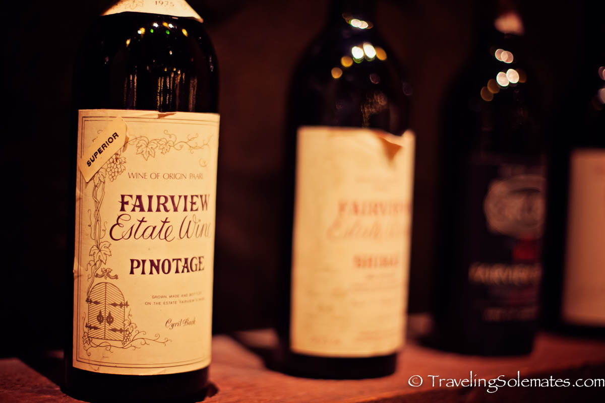 Pinotage, Wine Tasting at Fairview Estate Winery, Paarl, Cape Winelands, South Africa