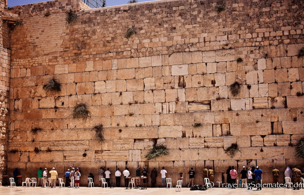 Men's Section, Western Wall, Old City of Jerusalem, Israe