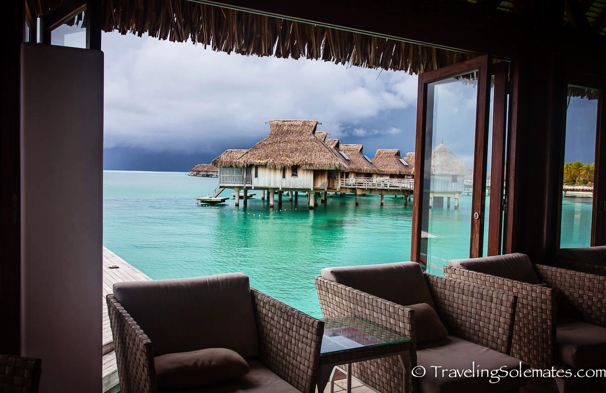 Overwater Bungalow, Hliton Bora Bora Nui Resort & Spa, Bora Bora, French Polynesia, South Pacific
