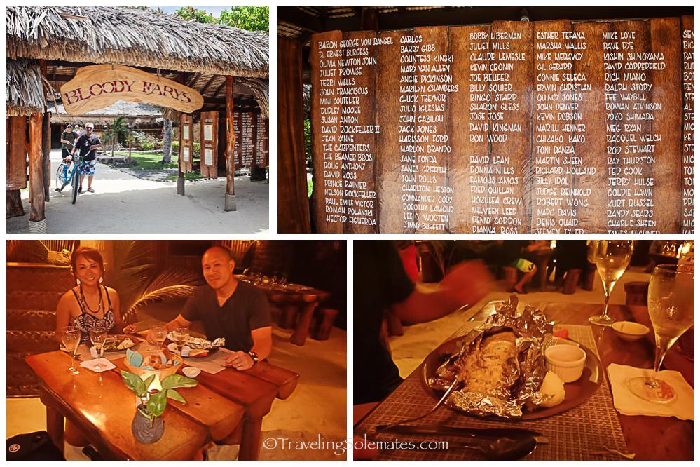 Bloody Mary's Restaurant, Bora Bora