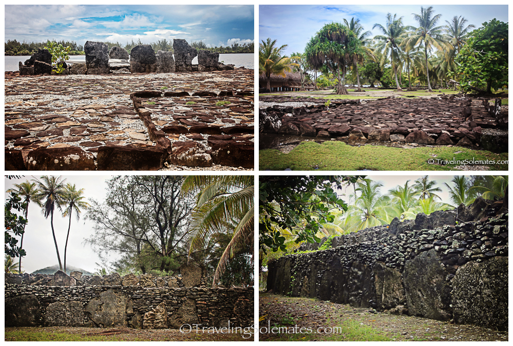 Marae (Ancient Polynesian Temples), Huahine, French Polynesia, South Pacific
