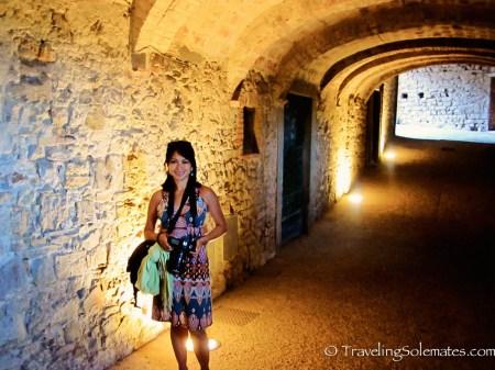 Tunnel in Castellina in Chianti, Tuscany, Italy