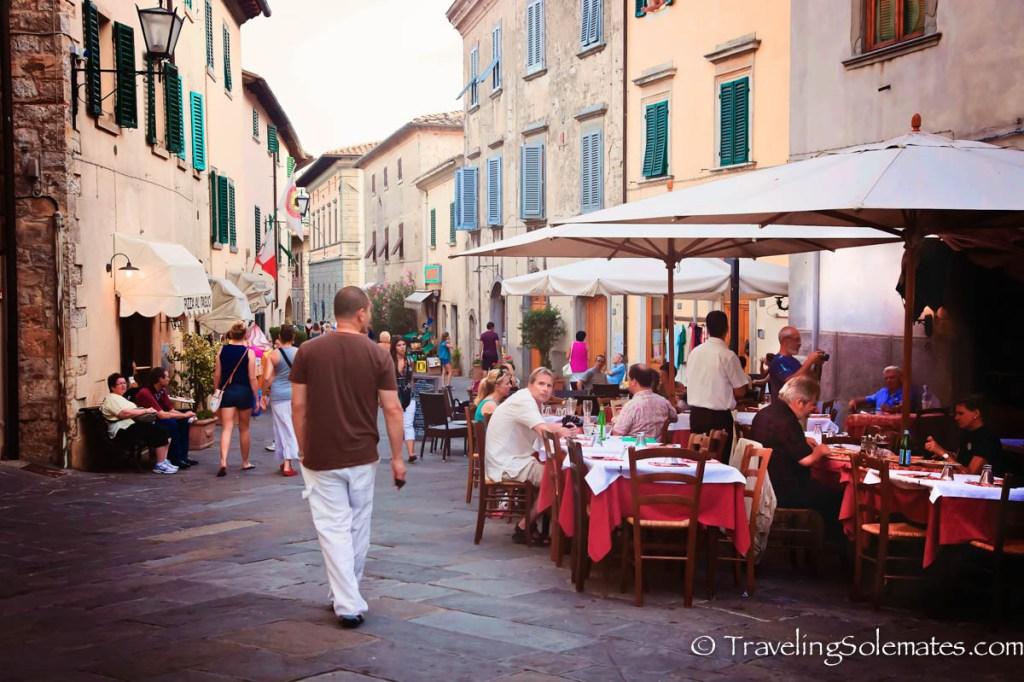 Street in Castellina in Chianti, Tuscany, Italy