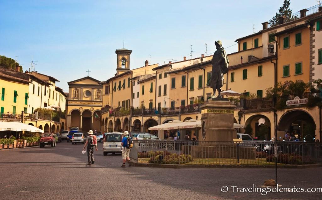 Piazza Matteoti, Greve in Chianti, Tuscany, Italy