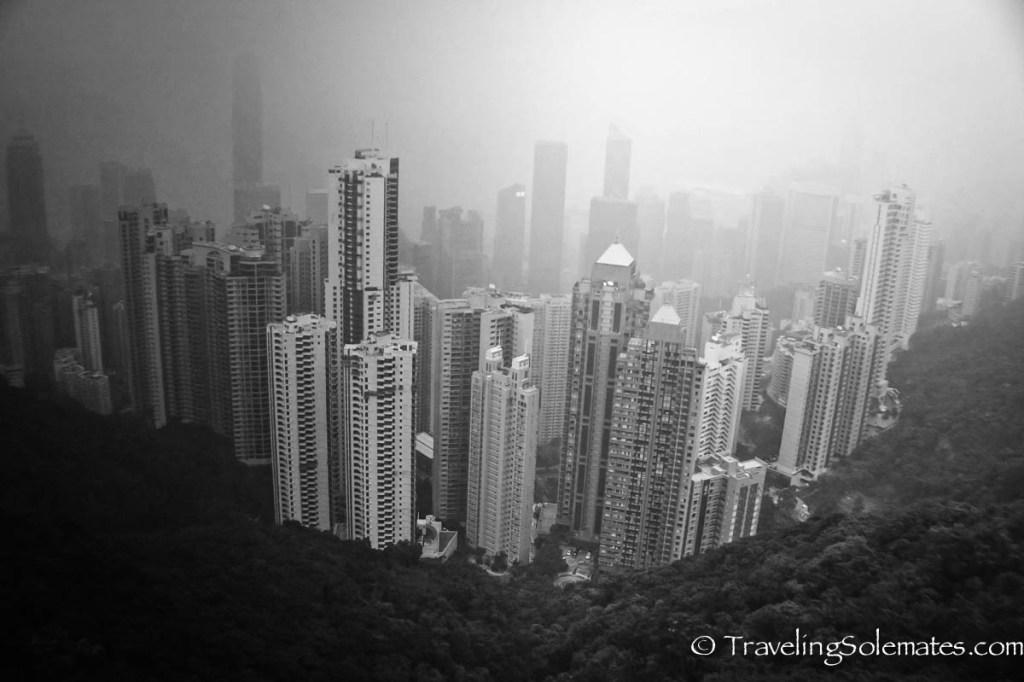 View of Hong Kong Skyline from Victoria Peak, Hong Kong
