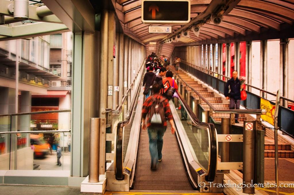 Central Escalator, Longest Moving Walkway, Hong Kong