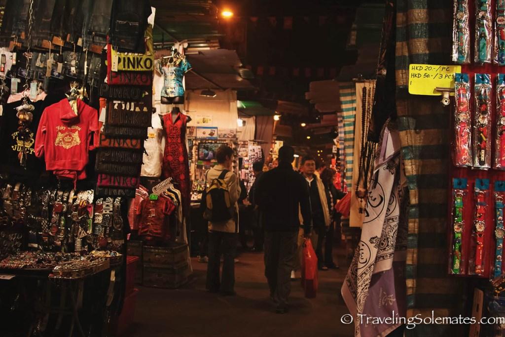 Night Market, Temple Stree,t Hong Kong