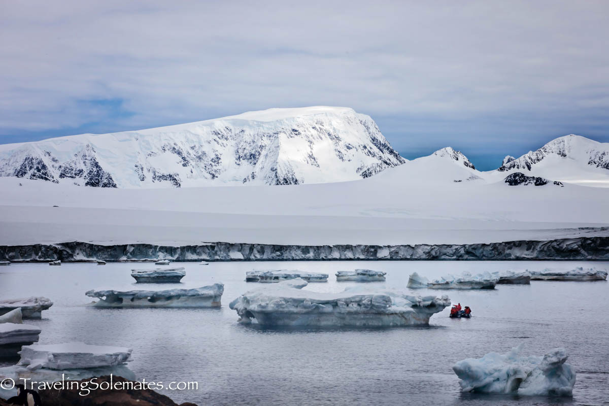 Glaciers and Icebergs in Brown Bluff, Antartica, National Geographic Explorer, Lindblad Expeditions