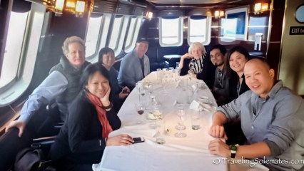 Dinner on National Geographic Explorer, Antarctica Expeditions