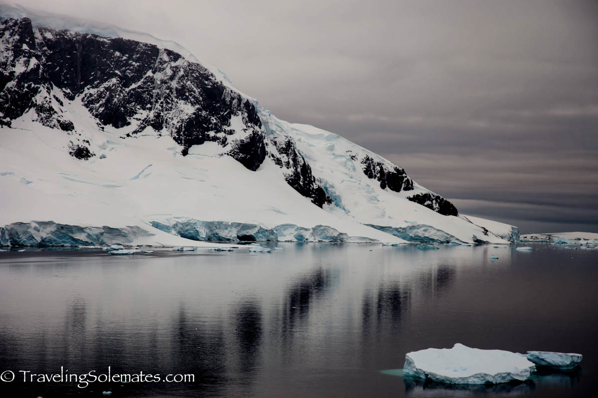 View from Danco Island, Antarctica, National Geographic Explorer, Linblad Expeditions