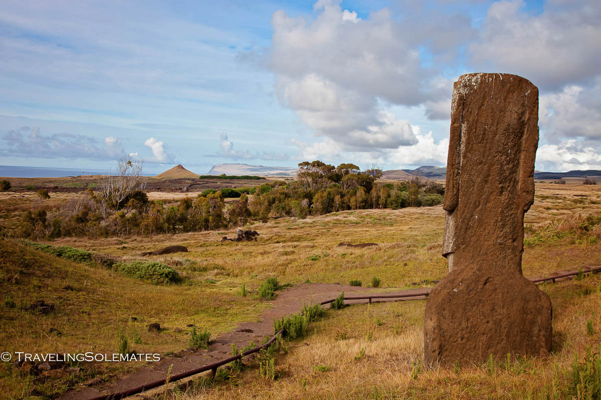 Rano Raraku Quarry, Easter Island, Chile