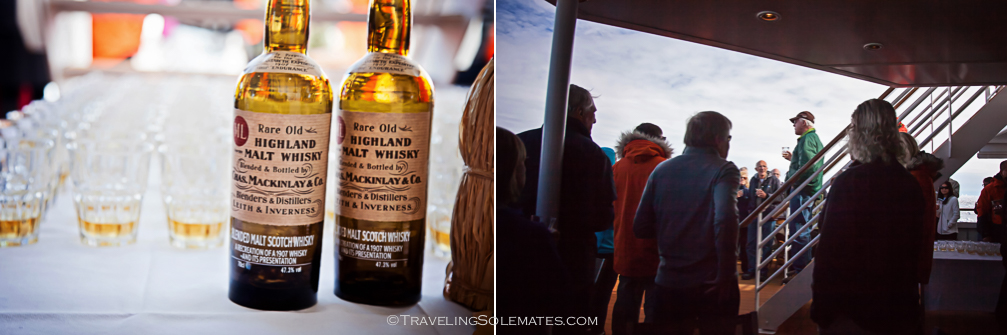 Schackleton Whisky Tasting, National Geographic Explorer, Antarctica Expedition