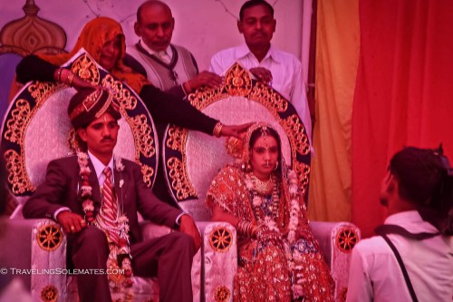 Wedding in Orchha, India