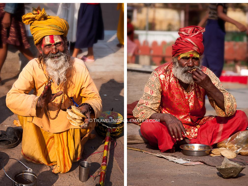 Saddhus in Orchha, India