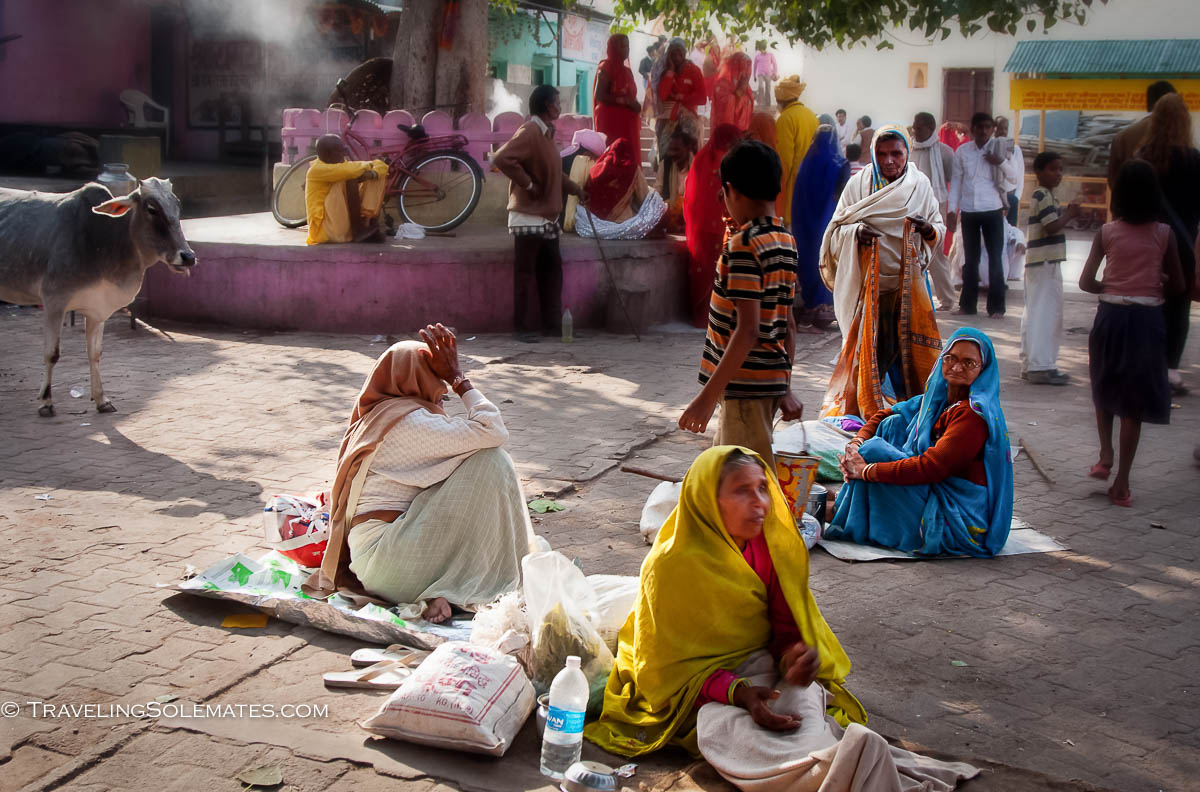 Homeless Widows in Orchha, India
