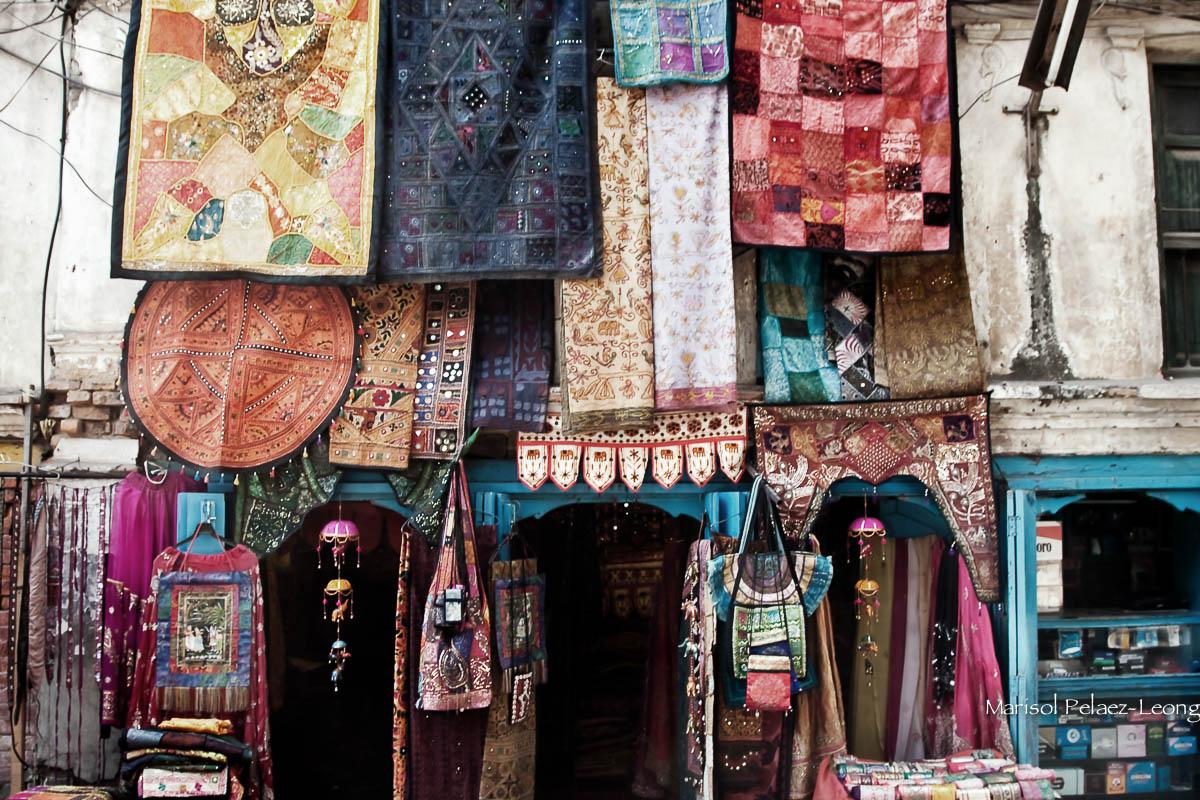 Shop in Freak Street, Kathmandu, Nepal