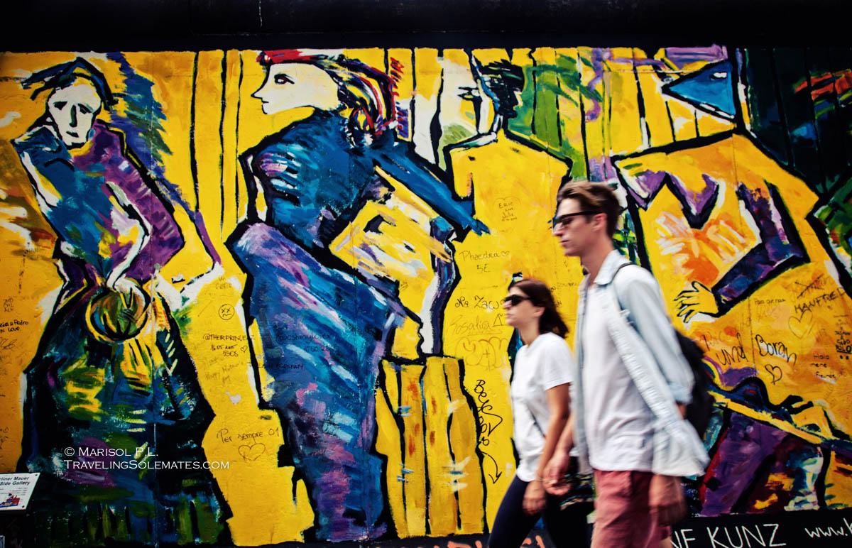 The Murals on Berlin Wall\'s East Side Gallery | Traveling Solemates