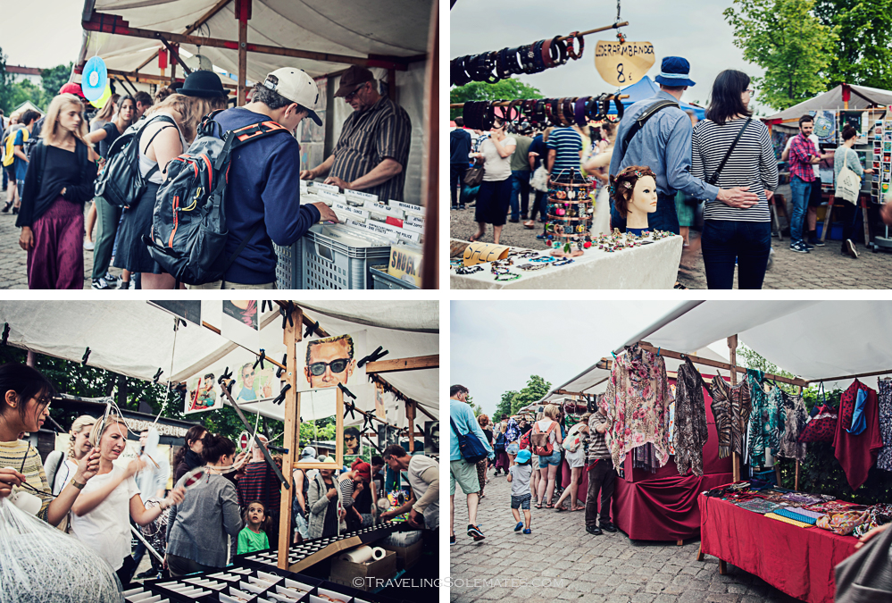 Sunday Flea Market in Mauerpark, Berlin, Germany