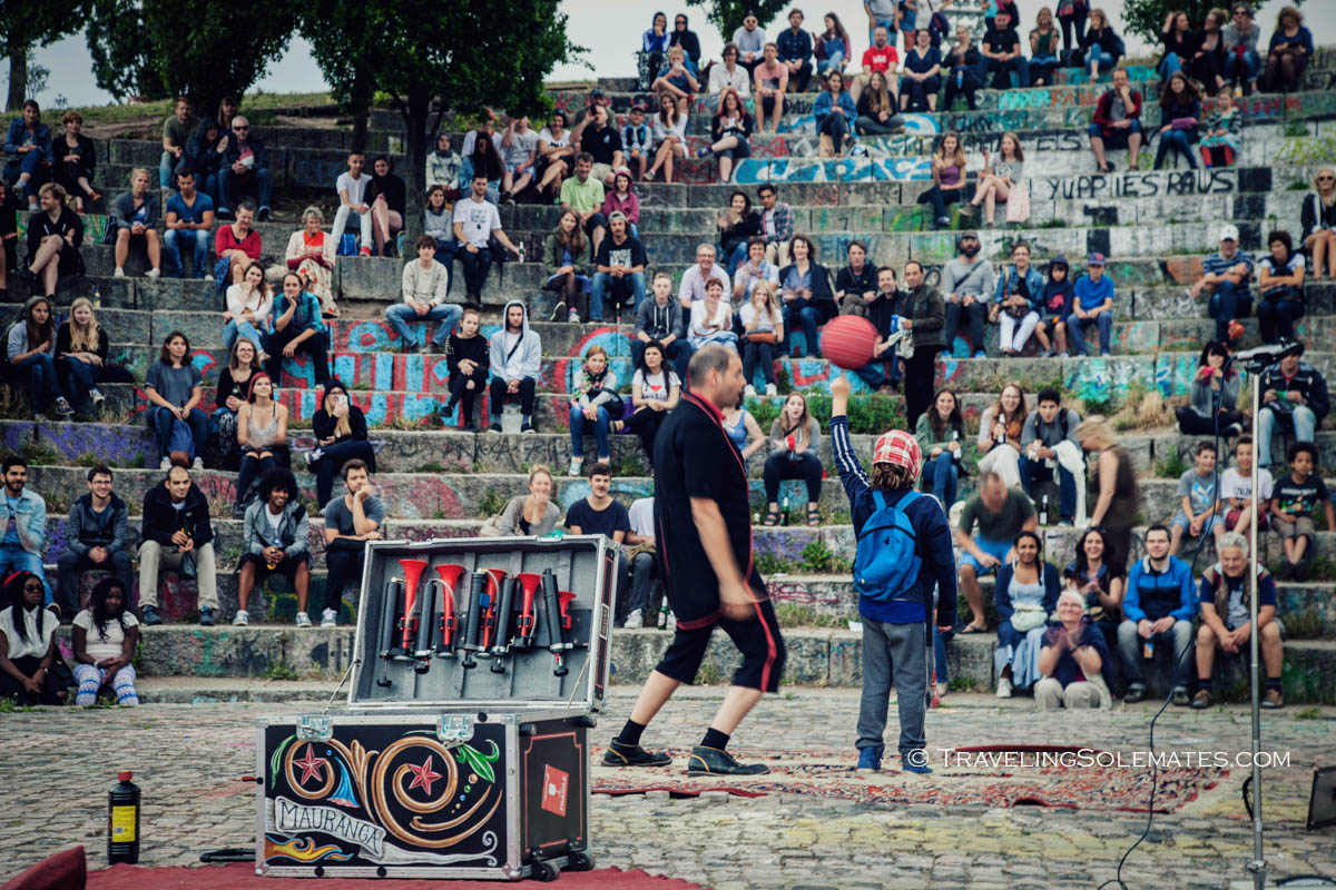 Performance Amphitheater in Mauerpark, Berlin, Germany