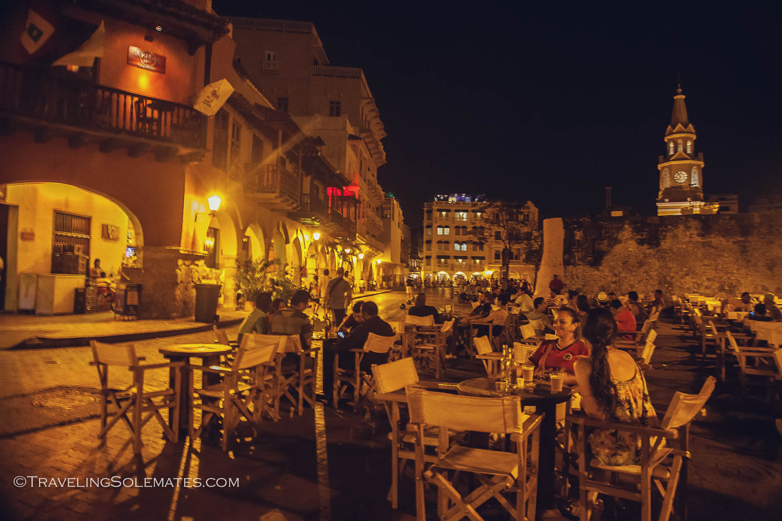 Plaza de Aduana, Old Cartagena, Colombia