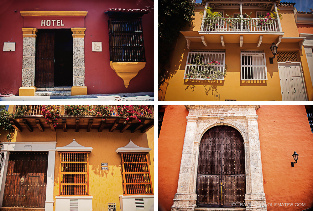 Hotels in Old Cartagena, Columbia