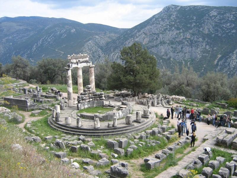 Athena Pronaia Sanctuary, Delphi, Greece